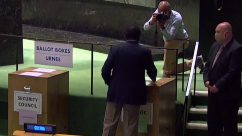 México fue electo miembro del Consejo de Seguridad