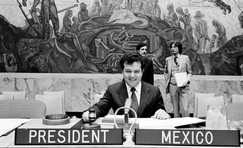 Porfirio Muñóz Ledo, Presidente del Consejo de Seguridad de la ONU, 1981