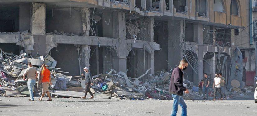 Guterres pide el fin de los enfrentamientos en Gaza e Israel