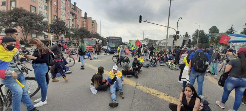 Preocupación por el uso de los militares en las protestas en Colombia