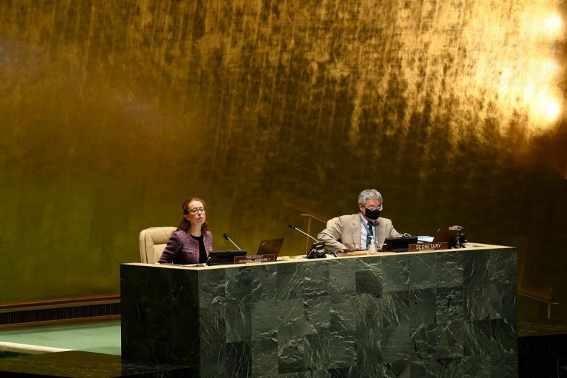 La Asamblea General decide continuar conversaciones sobre la reforma al CS