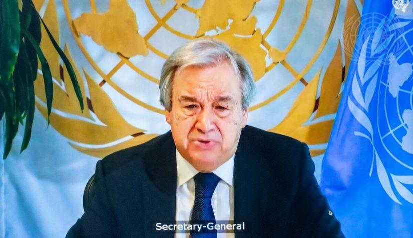 Guterres pide al Consejo adaptar  la protección de los niños a las situaciones actuales