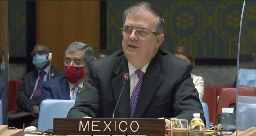 Intervención de México sobre la protección del espacio humanitario