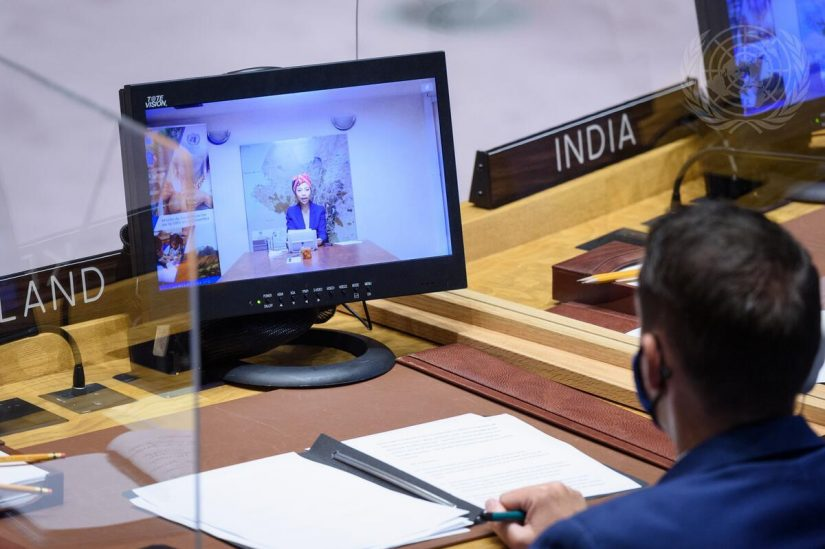 Reunión de la situación en Colombia del Consejo de Seguridad