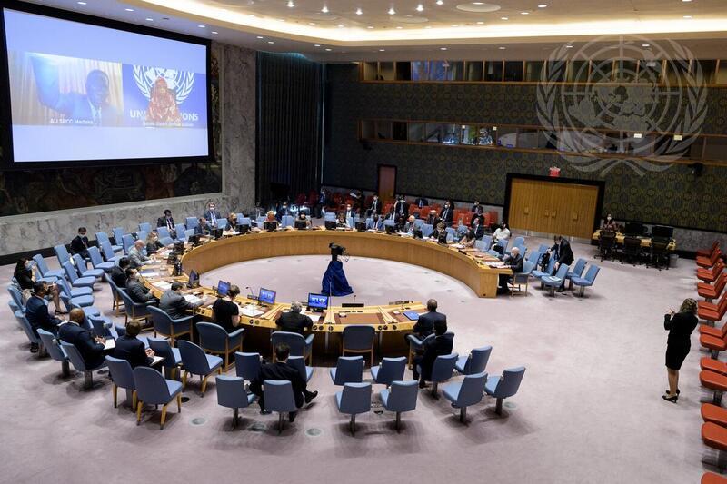 Reunión del Comité del CS con el Rep. Especial sobre Violencia Sexual en los Conflictos