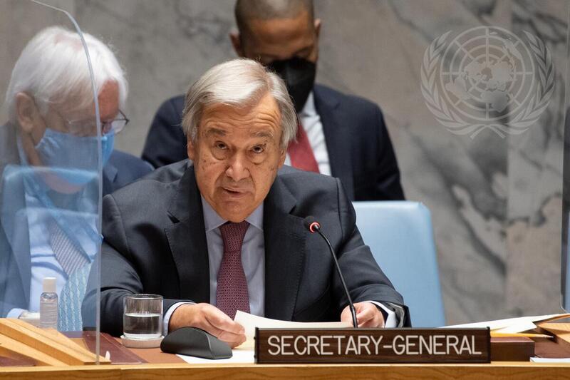 Secretario General advierte al Consejo de Seguridad sobre catástrofe humanitaria en Etiopía