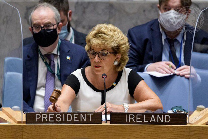 Conferencia de prensa del presidente del Consejo de Seguridad por el mes de septiembre de 2021