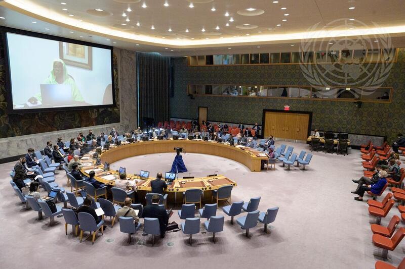 Reunión del Consejo de Seguridad sobre el «Mantenimiento De Paz Y Transiciones De La ONU»