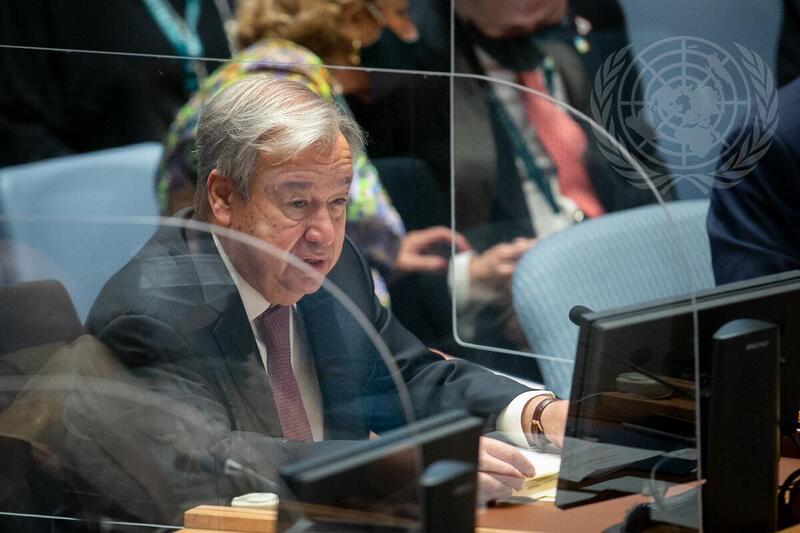 Guterres sobre el impacto de la crisis climática en la paz y la seguridad internacional